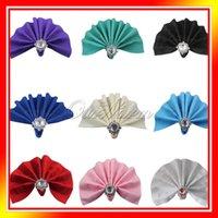 Wholesale 12pcs quot x quot cm x cm Linen Napkin Diner Handkerchief Hanky Wedding For Hot Sale Very Popular