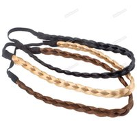 band wise - ChicFirm new fashion style New Pretty Girl Plait Braided Hair Head Plaited Band Brown a wise choice