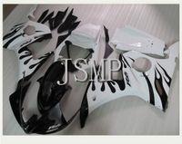 achat en gros de yzf r6 flamme blanche-Flamme blanche, flamme noire, (indiquer l'année) YZF R6 03 04 05 Carénage YZF R6 2003 2004 2005 Carénages