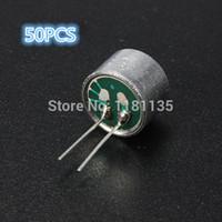 Wholesale 50pcs Mini Pin DB mm mm Electret Microphone Spy Pickup Condenser order lt no track