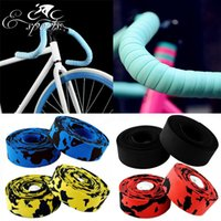 aluminum tapes - High Quality Colorful Cycling Bike Non slip Handlebar Cycling Handle Belt Bike Bicycle Cork Handlebar Tape Wrap Bar plug