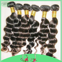 amazing delivery - Amazing Quality A Unprocessed Loose wave bundles Peruvian HUMAN Hairs Cheap Price fast delivery