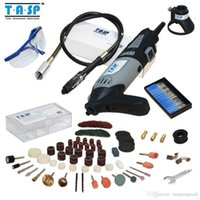 Wholesale Powerful w Variable Speed Dremel Electric Rotary Tool Mini Drill with Flexible Shaft and Accessories