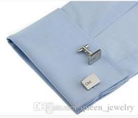 Wholesale Computer keyboard esc ctrl key press silver cufflinks French shirt sleeve m c