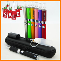 Single Multi Metal eVod MT3 Kits with MT3 Atomizer Electronic Cigarettes 650mah 900mah 1100mah Battery e cigarette clearomizer in Zipper case E Cig USB charger