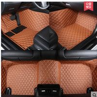Wholesale Interior Accessories Floor Mats XPE material car special full surrounded car floor mats carpets rugs for ex25 fx35 g25 qx70 Q70L