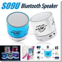 audio work - Mini Speaker S09U Bluetooth Music Player Support Micro SD Card Long Work Time Support iphone Love Speaker Retail Package