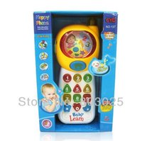 Wholesale Early Educational Happy Phone With Modes Learning Education Toys For Children