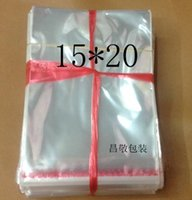 Wholesale packing bag cm transparent OPP bag self adhesive plastic bags jewelry bags