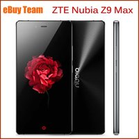 Wholesale Original ZTE Nubia Z9 Max quot Snapdragon810 Octa Core Andriod G Mobile Smartphone GB GB ROM MP P Cell Phones