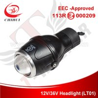 eec electric scooter - Top Quality EEC approved Electric Scooter V V Headlight T Walker Scooter Parts