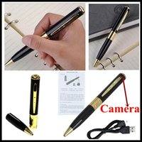 Cheap HD Spy Pen Camera Mini Wireless Spy Cam Motion detector Pinhole Video DVR 1280x960 720x480 AVI Hidden Video Recorder Support SD TF Card