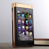 touchscreen - 3 quot dual SIM cards dual screen Touchscreen mAh wifi MP android smart mobile phone cellphone W2014 P330