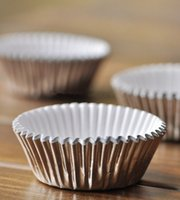 baking supplies shop - Aluminium foil cake cup liners baking cup mini cake holder home shop supplies