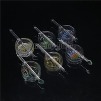 glass dish - smoking dogo BETTER QUALITY NOW high quality wig wag concentrate glass wax dish oil containers dabber tool set glass oil bowl set