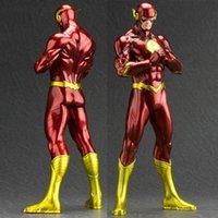 action league batman - New inch PVC Anime Comics Superhero Justice League POP The Flash Action Figure Collectible model Toy