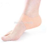 Wholesale 1 Pair Delicate Silicone Moisturizing Gel Heel Socks Like Cracked Foot Skin Care Protector