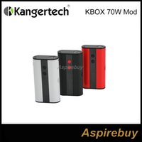 batteries loading - 100 Authentic Kanger KBOX W VW TC Box Mod mah Built in Battery Spring loaded Connection Micro USB Charging Mod Colors
