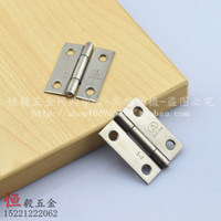 Wholesale SUS304 stainless steel inch folding MM small jewelry box hinge hinge small hinge cabinet door luggage