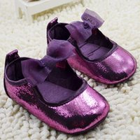 baby clothing fabric - new babys Clothes for girls spring summer Princess Baby sequins first walker shoes with flower ZZ