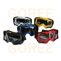 Wholesale Black Unisex Anti Fog Motorcycle Goggle Off Road Goggles Motocross Glasses Steampunk Moto Cycling Eyewear