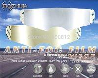 arai visors - Exclusive first Permanent anti fog lens glare of high end helmets foil patch for agv arai sol sbk hjc helmets visor