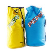 Wholesale ps00016 double shoulder badminton tennis bag backpacks outdoor E sport backpack price yellow and blue
