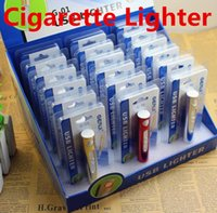 Wholesale GERUI G Cigarette Lighters Portable USB Electronic Flameless Rechargeable Battery Cigarette Flameless Lighter Wind Proof Mini Lipstick