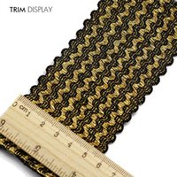 belt fabric material - Elastic Stretch Fabric Black Gold mm Webbing Ribbon Tape Band Belt Material Applique Scrapbooking Sewing Supplies yard T851