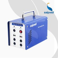 Wholesale ES factory direct small home home solar generator portable solar generator
