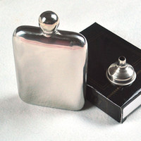 Wholesale Mini oz Wine Pot Wine Pot With Funnel Portable Stainless Steel Hip Flask Gentlemen s Traveling Camping Drinkware os172