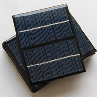 automobile sales - Hot sale V W Epoxy Solar Panels Mini Solar Cells Polycrystalline Silicon Solar DIY Solar Module10PCS