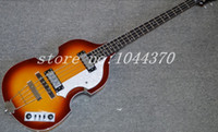 beginners bass guitar - new hot sell Top Quality Lower Price Hofner Icon Series Vintage Sunburst Violin Bass Electric Guitar