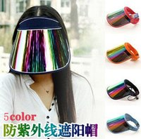 Wholesale New Ultraviolet keep off Sun visor Motorcycle bike riding hat and drop shipping