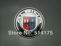 Wholesale NEW ALPINA Bonnet BADGE Emblem Hood Logo mm pin Series E46 E60 E36 E90 Free Shiping order lt no track