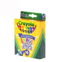 Wholesale 50sets Crayola Virtual Design Pro Fashion Christmas Gifts for Children Crayons Colors large washable Crayola