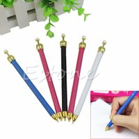 Wholesale 5pc Cute Polka Dot Pearl Propelling Crown Mechanical Automatic Pencil Stationary