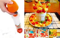 Wholesale Fashion Hot Fruit Salad Carving Vegetable Fruit Arrangements Smoothie Cake Tools Kitchen Dining Bar Cooking Accessories Supplies Products