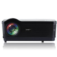 Wholesale DHL Free New Original Uhappy U3 High definition Wifi Projector LCD LED Projector inch HD1080P Lumens TV D home theaters