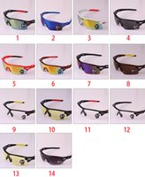 Plastic fashion plastic sunglasses - New Upgrade Cycling Bicycle Bike Sports Eyewear Fashion Sunglasses Men Women Riding Fishing Glasses Colors