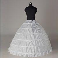 Wholesale Fast Shipping Useful HOOP Underskirt Petticoat Of Wedding Dress A Line Dresses Ball Gown Hoop Net Adjustable Full Crinoline Cheap