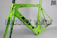 bh - BH G6 carbon road bike frame bicycle frameset carbon road frame bicicleta CYCLING bh g6 B6 green