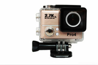 Wholesale Hot Gopro Hero Type Sports Go Pro Style Camera Top K Full HD P With WIFI G560 Control Phone Tablet PC meters Waterproof Cameras