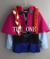 Cheap Frozen Hoodied Sweater Best Anna jacket with cape