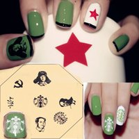 Wholesale Stamping Nail Plates nail design stamp The Statue of Liberty pieces Z07