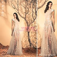 affordable maternity wedding gowns - 2015 Ziad Nakad Wedding Evening Dresses For Arabic India Dubai Celebrity Plus Size Long Prom Gowns Affordable Sexy Custom Made Lace Vestidos