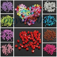 Wholesale 100PCS mm Glass Crystal Jewelry Diy Findings Bicone Loose Faceted Beads