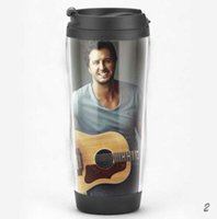 american billboard - American superstar Luke Bryan Double deck travel cup Billboard Popular Coffee Cup Starbucks Tumbler Style