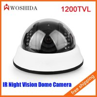 Wholesale HD Line Dome Camera Infrared Night Vision Security Camera Woshida