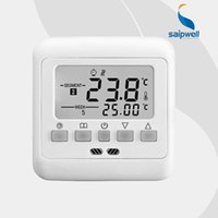 Wholesale White Green Blue Backlight Underfloor Heating Thermostat Weekly Programmable Room Temperature Controller H4